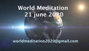 World Meditation aankondiging